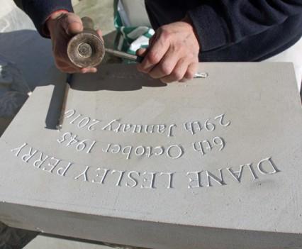 Paul-Diane-Lesley-Perry-lettering